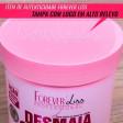 Desmaia Cabelo Grande 950g Forever Liss Máscara Ultra Hidratante