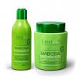 Kit Babosa no Cabelo Forever Liss Shampoo 300ml + Máscara 250g