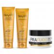 Itallian Trivitt Pós Química Kit Shampoo e Cond. + PraTudo 300g