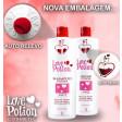 Love Potion Kit Escova Progressiva 2x1L + Gelatina Hidratante 1kg