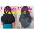 Nanovin A Krina de Cavalo Kit Crescimento Capilar Shampoo+ Tônico