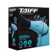Secador De Cabelo Taiff Style Profissional 2000w - 220v (Azul)