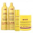 Richée Kit Clinic Repair System Hidratação e Força (4 Produtos)