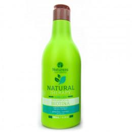 Natureza Cosméticos Shampoo Biotina Natural Therapy 500ml