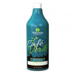 Natureza Cosméticos Café Verde Shampoo Anti Resíduo 1Litro