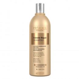 Prohall Shampoo Profissional Macadâmia Extreme Repair 1 Litro