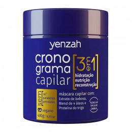 Yenzah Cronograma Capilar 3 em 1 Máscara Capilar 480g