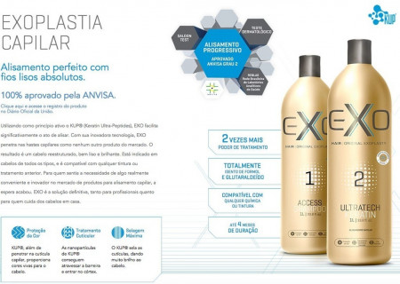 Exo Hair Ultratech Keratin Passo 2 500ml