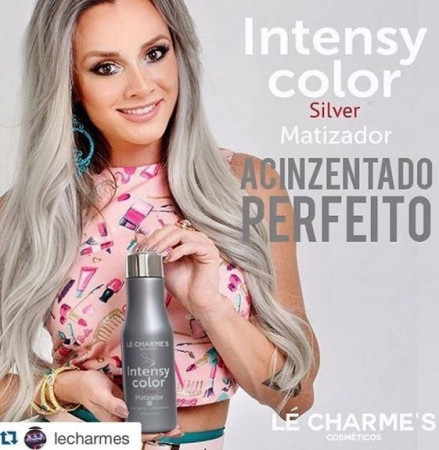 Intensy Color Matizador Juju Le Charmes – Silver 300ml