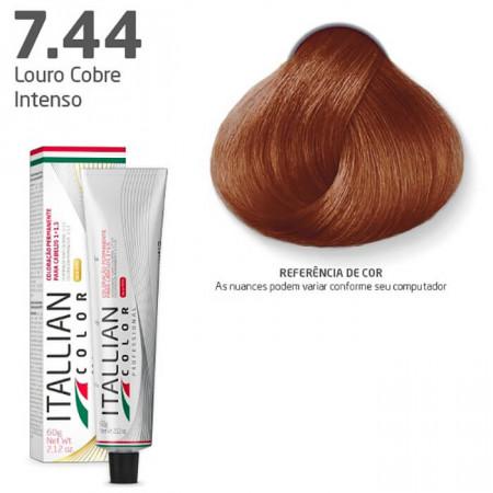 Itallian Color 7.44 Louro Cobre Intenso