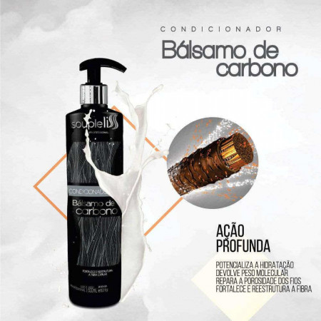 Souple Liss Balsamo de Carbono Condicionador 500ml