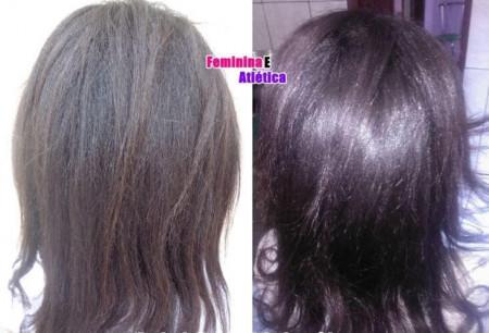 Forever Liss Kit Banho de Verniz Shampoo 500ml + Mascara 1kg