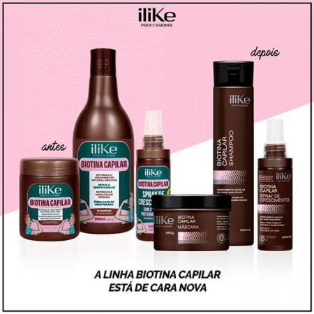 iLike Biotina Capilar Spray de Crescimento 100ml