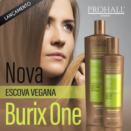 Prohall Burix One Escova Orgânica Realinhamento Capilar 1Litro