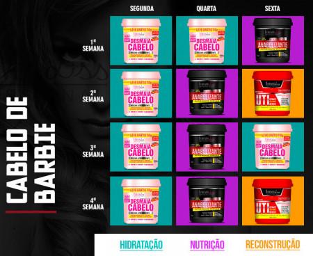 Forever Liss Cronograma Capilar Cabelo de Barbie