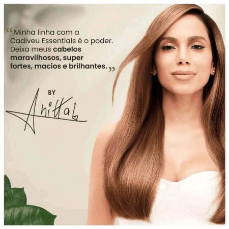 Cadiveu Essentials Vegan Repair By Anitta Kit Duo 2x250ml