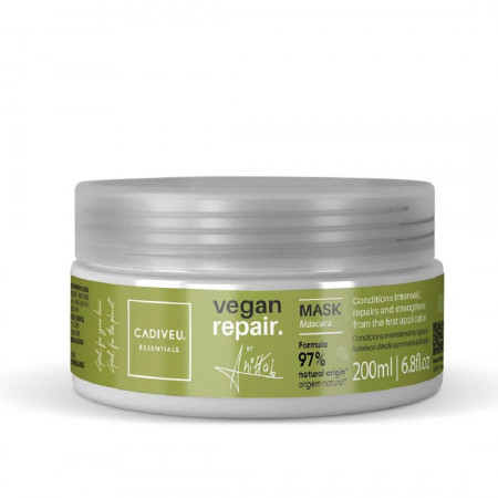 Cadiveu Essentials Vegan Repair By Anitta Máscara Capilar 200ml