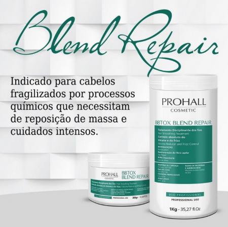 Prohall BBtox Capilar Blend Repair Sem Formol 300g