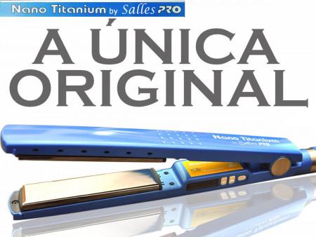 Chapinha Prancha Profissional Nano Titanium Salles - Bivolt