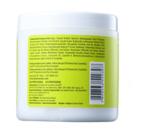Deva Curl Styling Cream Creme Para Cachos 500g