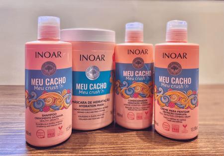 Inoar Meu Cacho Meu Crush Kit Hidratação Intensa - 4 itens