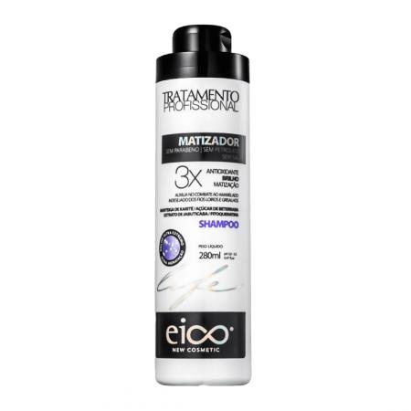 Eico Life Shampoo Matizador Antioxidante - 280ml