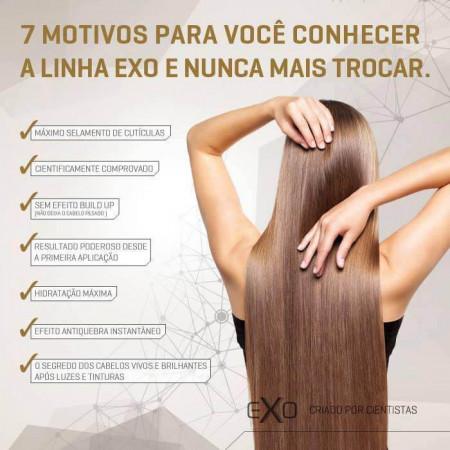 Exo Hair Kit Home Use - Manutenção Pós-alisamento e Finalizadores
