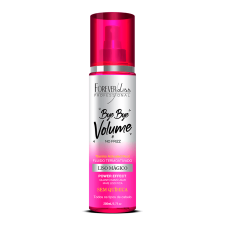 Forever Liss Bye Bye Volume e No Frizz Liso Mágico 200ml