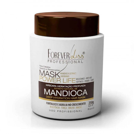 Forever Liss Kit Mandioca Shampoo 300ml + Máscara Hidratante 250g