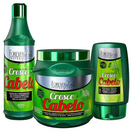 Forever Liss Kit Cresce Cabelo Grande (3 Produtos)