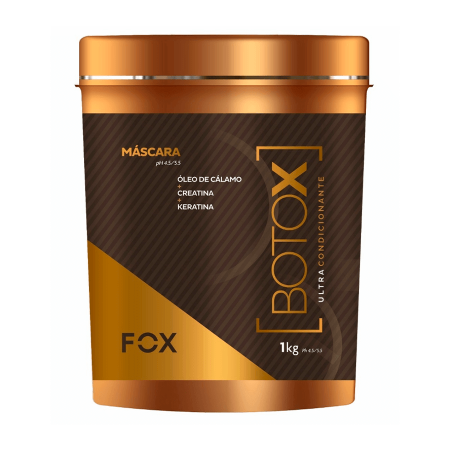 Fox Bt-o.x Ultra Condicionante Keratina Creatina 1kg