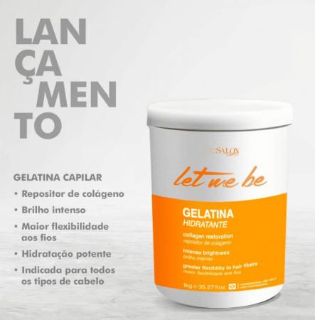 Let Me Be Gelatina Capilar Hidratante 1KG ProSalon