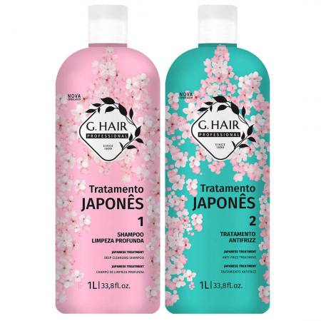 Ghair Tratamento Japonês Escova Progressiva 2x1Litro