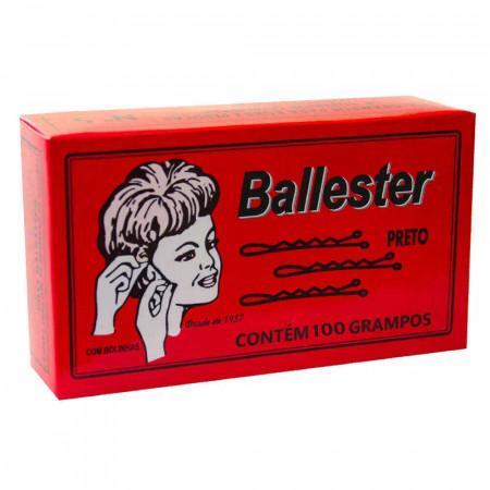 Ballester Grampos de Aço Nº7 Preto Caixa com 100 unidades
