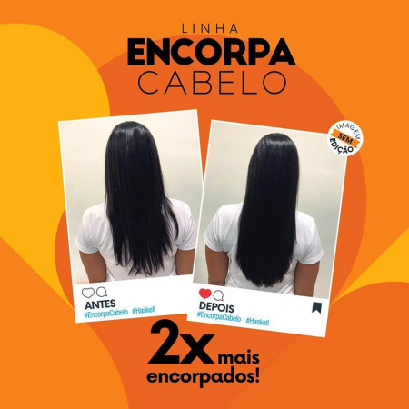 Haskell Encorpa Cabelo Engrossador Kit 3 Itens