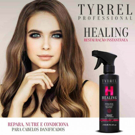 Tyrrel Healing Reconstrução Instantânea SOS Queratina Liquida