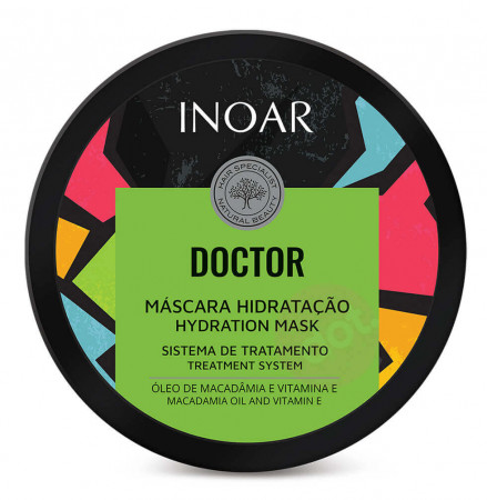 Inoar Doctor Máscara Hidratação 250g (Nova Embalagem)