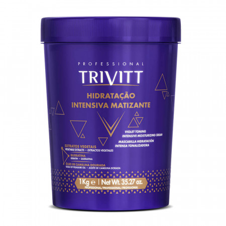 Itallian Trivitt Blonde Hidratação Matizante - Mascara 1Kg