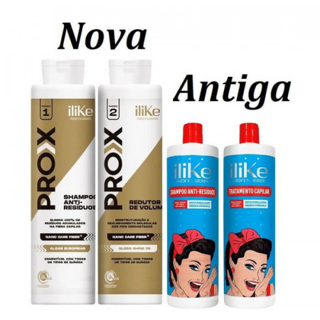 iLike Escova Progressiva PRO-X - 2x1 Litro