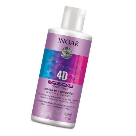 Inoar Condicionador 4D Beleza em 4 Dimensões 400ml