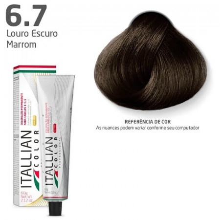 Itallian Color N. 6.7 Louro Escuro Marrom