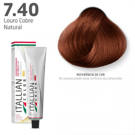 Itallian Color N. 7.40 Louro Cobre Natural