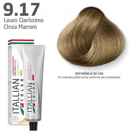 Itallian Color N. 9.17 Louro Clarissimo Cinza Marrom