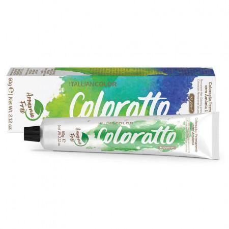 Coloração Sem Amônia Coloratto 60g Preto 1.0