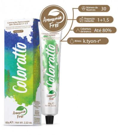 Itallian Tonalizante 6.1 Louro Escuro Cinza - Coloratto