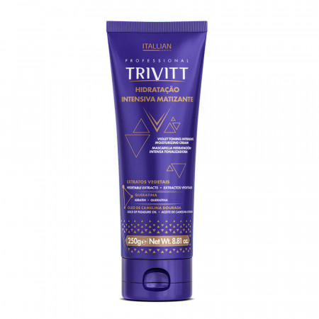 Itallian Trivitt Blonde Hidratação Matizante Mascara 250g