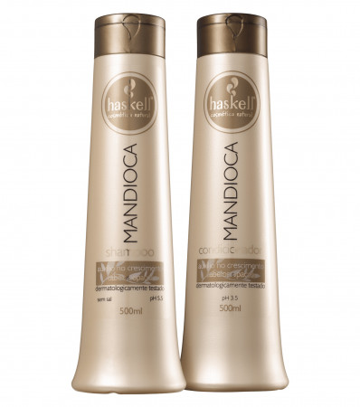Haskell Mandioca Kit Duo Shampoo + Condicionador 500ml