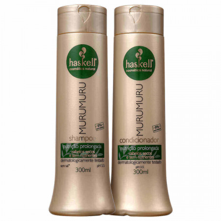 Haskell Murumuru Kit Duo Nutrição Prolongada 2x300ml