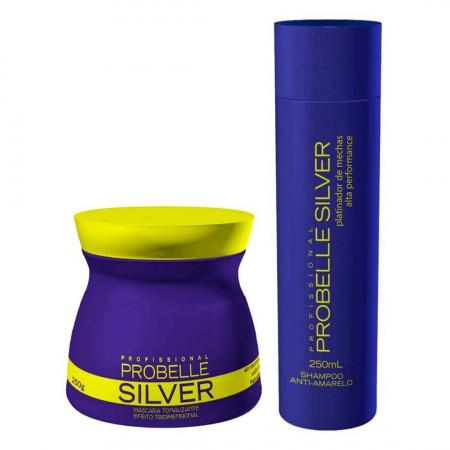Probelle Silver Kit Matizador Desamarelador (2pc)