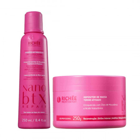 Kit Richée Nano Botox Repair Repositor de Massa (2 Produtos)